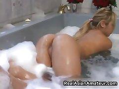 My asian GF in bathtub 2 by CaughtExGF part6