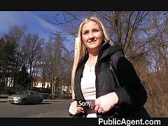 PublicAgent - Amazing boobs blonde blowjobs